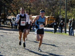 Competing in State Sectionals at Garret Mountain my senior year